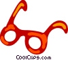 Vector Clipart picture  of a Glasses and Eyeglasses