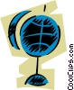 Vector Clipart picture  of a Globes