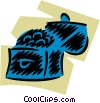 Vector Clip Art graphic  of a Treasure Chests