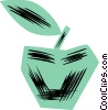 Vector Clip Art picture  of an Apples