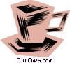 Vector Clipart picture  of a Cups of Coffee