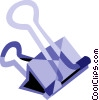 Vector Clipart picture  of an Alligator or Bulldog Clips