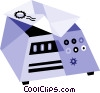 Vector Clip Art image  of a Scales