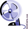 Electric Fan Vector Clipart picture