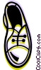 Vector Clip Art graphic  of a Dress Shoes