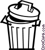 Garbage Waste Trash Vector Clipart picture