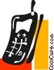 Cellular Wireless and Cordless Phones Vector Clipart picture