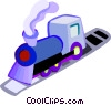 Trains Locomotives Vector Clip Art image