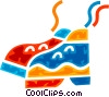 Vector Clipart illustration  of a Running Shoes