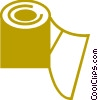 Toilet Paper Vector Clipart illustration