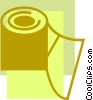 Toilet Paper Vector Clip Art picture