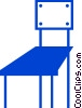 Vector Clip Art graphic  of a Chairs