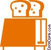 Toasters Vector Clipart graphic