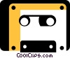 Cassette Tapes Vector Clipart illustration