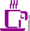 Cups of Coffee Vector Clipart graphic