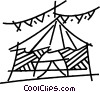Tents and Big Top Vector Clip Art picture