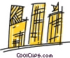 Apartments Condominiums Vector Clipart picture