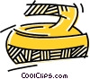 Curling Rocks & Brooms Vector Clip Art picture