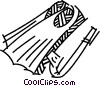 Vector Clip Art picture  of a Fins