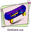 Skateboards Vector Clipart image