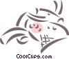 Japanese designs Vector Clip Art picture