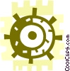 Captain's Wheel Vector Clipart image