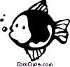 Various Fish Vector Clipart picture