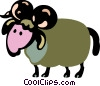 Rams Vector Clipart picture