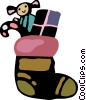 Stockings Vector Clip Art picture