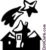 Urban Housing Vector Clip Art image