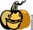Vector Clipart image  of a Pumpkins