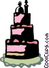 Vector Clipart image  of a Cakes