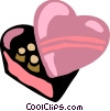 Vector Clip Art graphic  of a Hearts