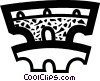 Roman Aqueducts and Walls Vector Clip Art graphic