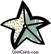 Starfish Vector Clipart graphic