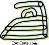 Irons Ironing Vector Clip Art graphic