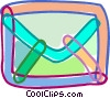 Vector Clip Art graphic  of a Envelopes