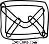 Envelopes Vector Clipart image