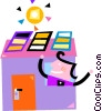 Solar Vector Clipart picture