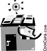 Vector Clipart graphic  of a Solar