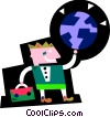 Vector Clipart graphic  of an Accomplishment