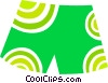 Vector Clipart illustration  of a Shorts