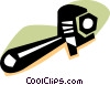 Vector Clip Art image  of a Wrenches