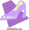 Vector Clipart image  of a Dress Shoes