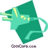 Vector Clip Art picture  of a Electric Plugs