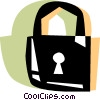 Vector Clipart picture  of a Keys and Locks