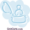 Vector Clip Art graphic  of a Rings