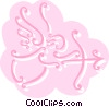 Vector Clip Art picture  of an Angels