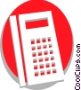 Vector Clip Art picture  of a Calculators