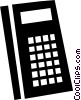 Vector Clip Art graphic  of a Calculators